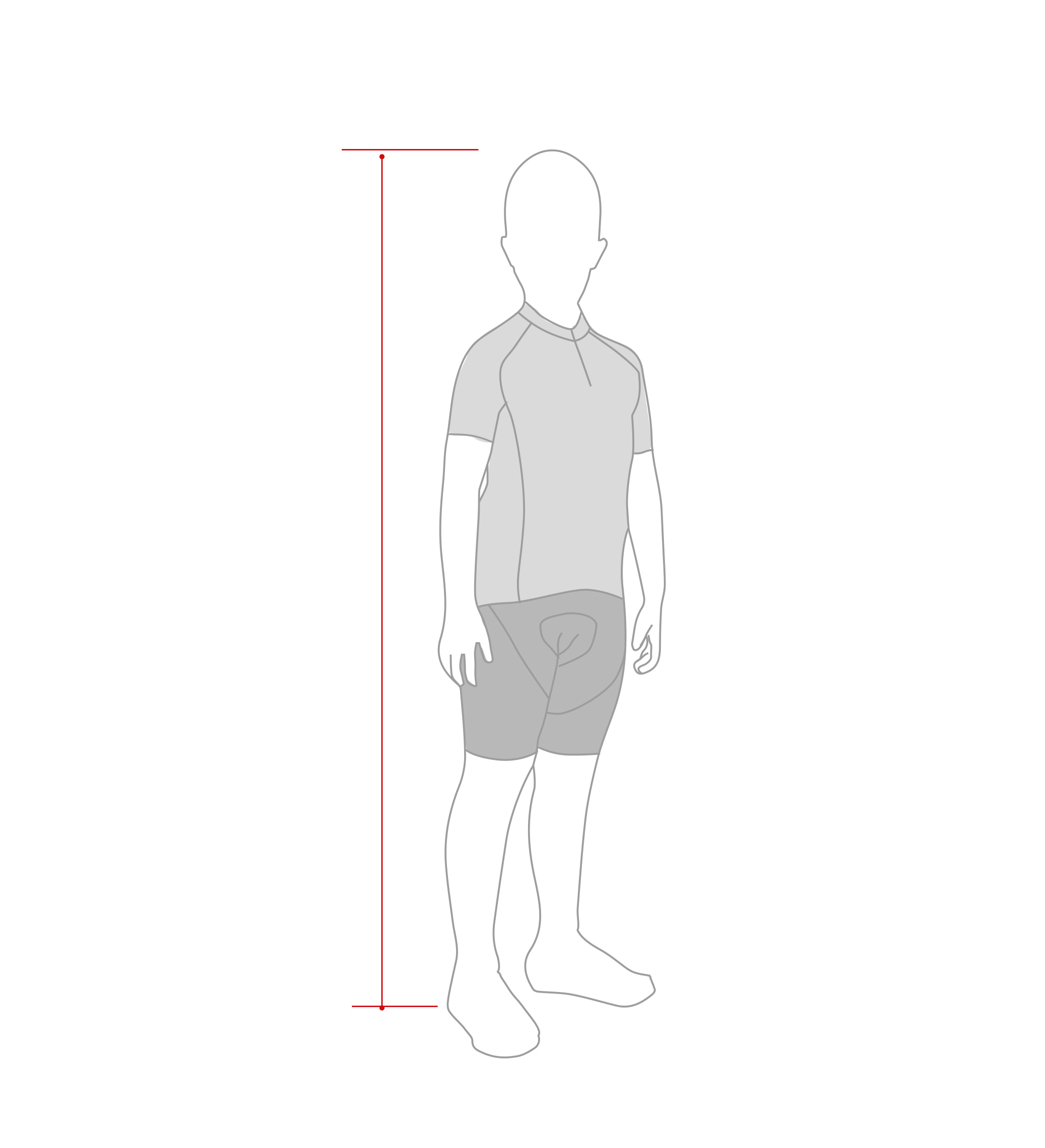 man cycling size guide