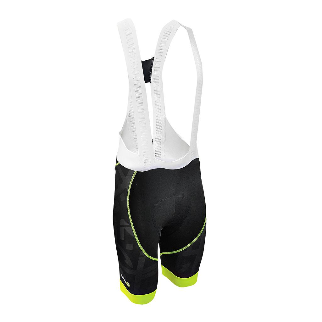 S+ Black/Fluo Bib Shorts