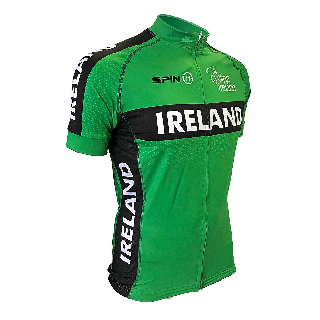 Team Ireland Short Sleeve Cycling Jersey